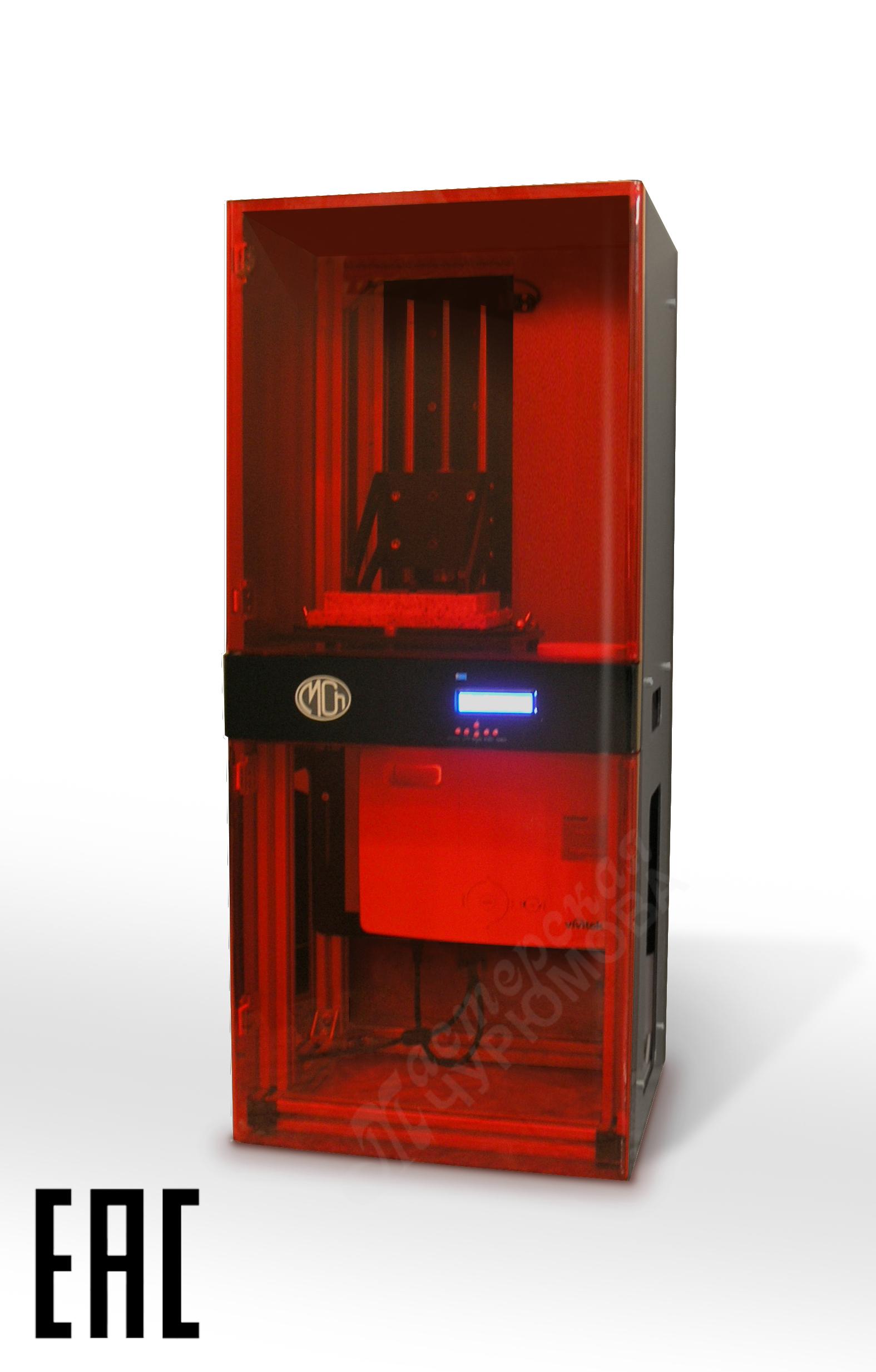 3D принтер Mch DLP SLA c проектором full hd