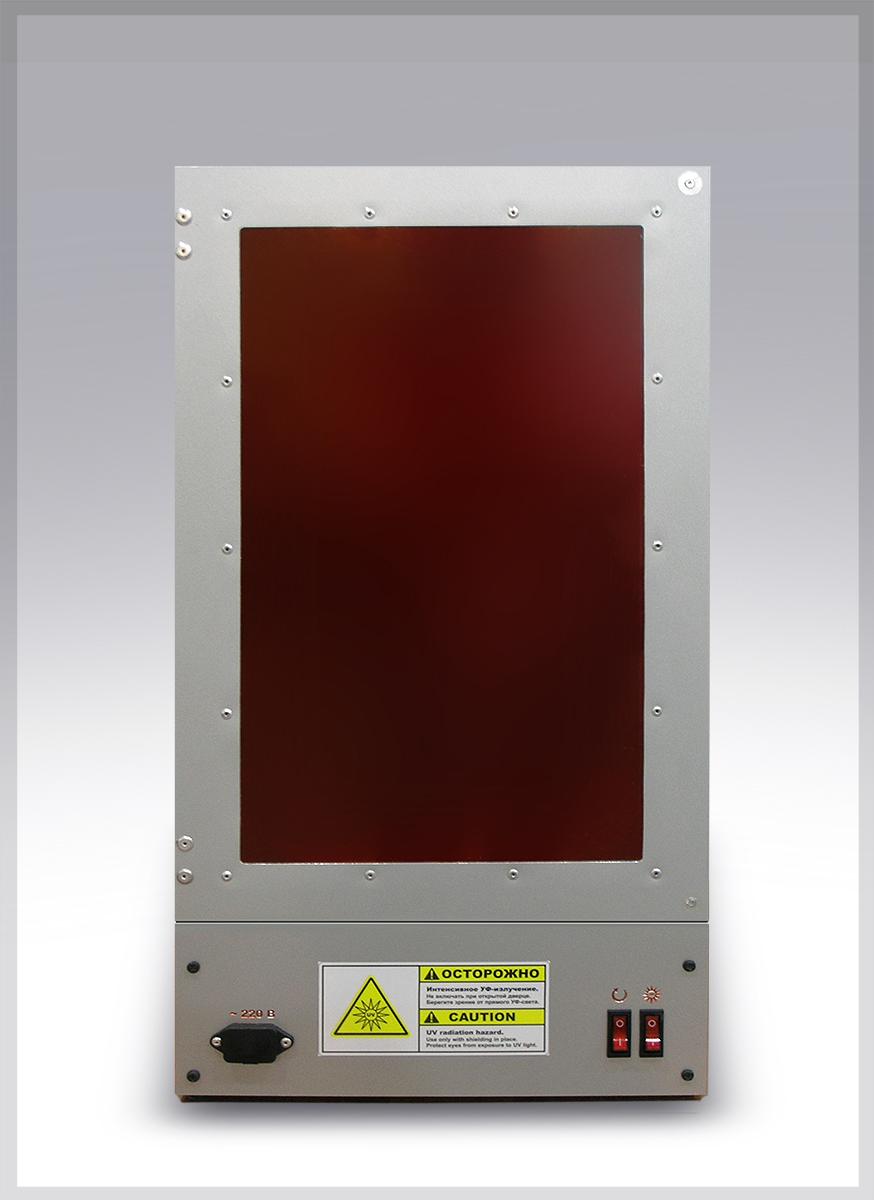Камера дополнительной засветки моделей, выращенных на 3D DLP SLA